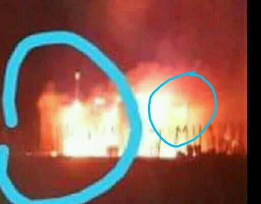 """Creyentes aseguran haber captado imagen de """"Jesús"""" durante incendio y que  protegió a familia del fuego [FOTO] – El Blog"""
